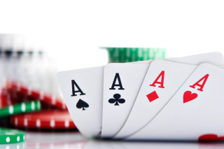 Poker Playing Cards Background for Android, iPhone and iPad