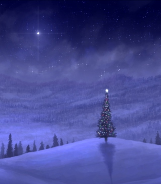 Christmas Tree Wallpaper for Nokia 7600