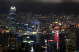 Hong Kong Night Tour Wallpaper for Android, iPhone and iPad