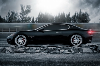 Maserati GranTurismo Wallpaper for Android, iPhone and iPad