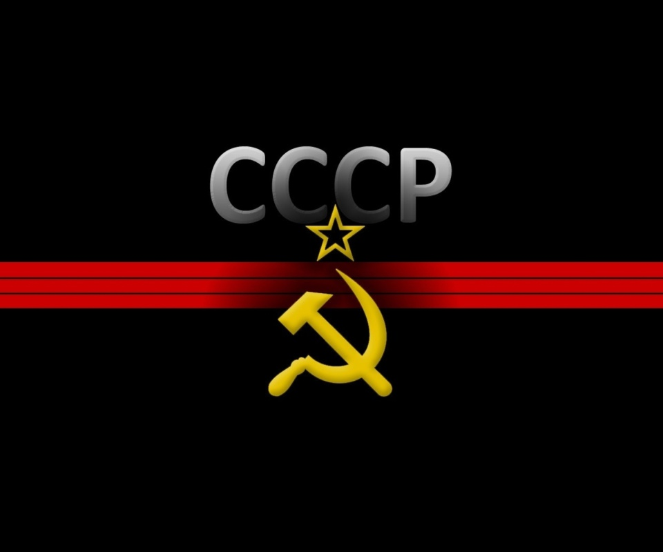USSR and Communism Symbol wallpaper 960x800