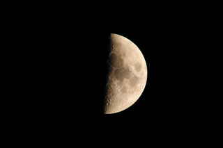 Free Half Moon Picture for Android, iPhone and iPad