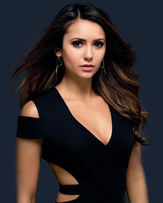 Free Nina Dobrev HD Picture for Nokia Asha 306
