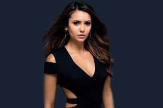 Nina Dobrev HD Background for Android, iPhone and iPad