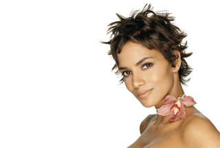 Halle Berry Background for Android 480x800