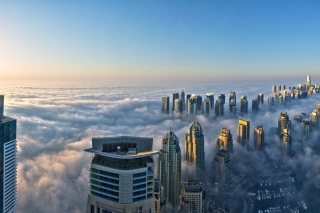 Dubai Observation Deck Wallpaper for Android 480x800