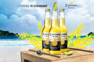 La Cerveza Corona Background for Android, iPhone and iPad