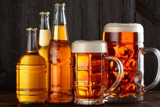 Best Beer in Glasses Wallpaper for Samsung Galaxy Ace 3