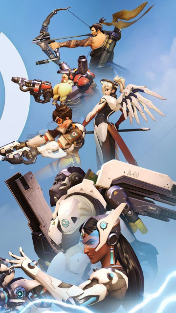 Screenshot №1 pro téma Overwatch Shooter Game 360x640