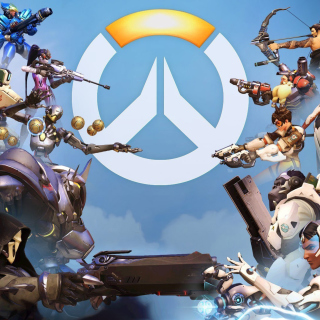 Overwatch Shooter Game Picture for iPad mini 2