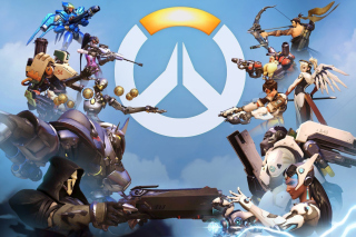 Overwatch Shooter Game - Fondos de pantalla gratis para Desktop Netbook 1366x768 HD