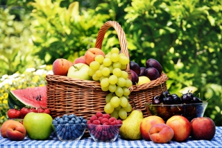 Fruit Basket Picture for Android, iPhone and iPad