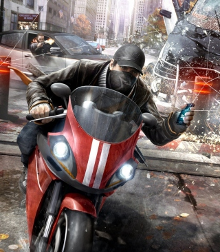 Watch Dog 2014 sfondi gratuiti per Nokia C6