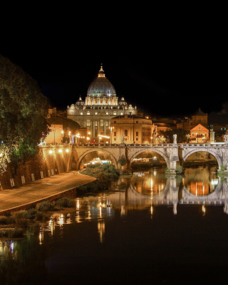 St Peters Square, Vatican City Wallpaper for iPhone 6 Plus