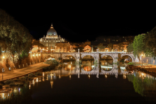 St Peters Square, Vatican City Wallpaper for Samsung Google Nexus S