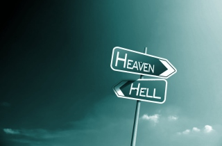Heaven Hell Wallpaper for Android, iPhone and iPad