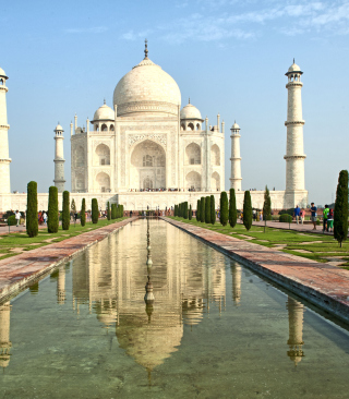 Taj Mahal Picture for 480x800