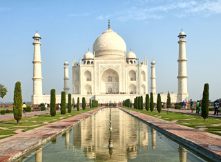 Taj Mahal Picture for Android, iPhone and iPad