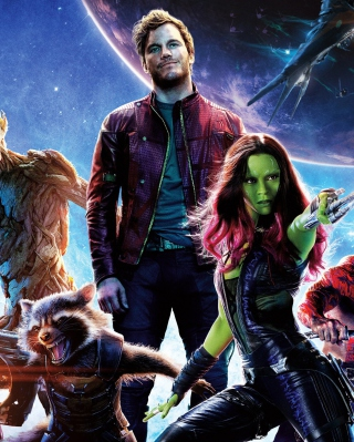 2014 Guardians Of The Galaxy papel de parede para celular para Nokia X6