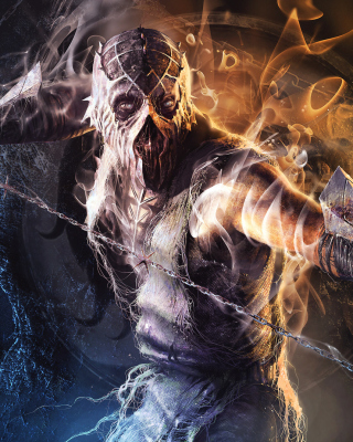 Krypt Demon in Mortal Kombat Background for Nokia C5-06