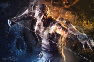 Kostenloses Krypt Demon in Mortal Kombat Wallpaper für Android, iPhone und iPad