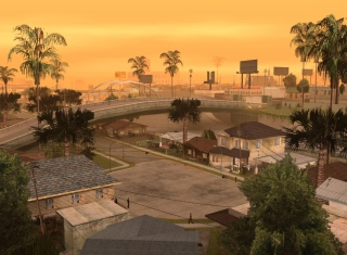 Los Santos - San Andreas Background for Android, iPhone and iPad
