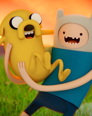 Adventure time   Cartoon network sfondi gratuiti per Nokia C6