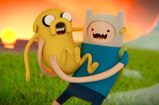 Adventure time   Cartoon network - Obrázkek zdarma pro LG P500 Optimus One