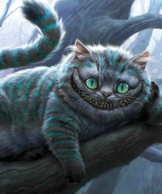Cheshire Cat Wallpaper for 240x320