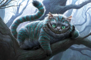 Free Cheshire Cat Picture for Android, iPhone and iPad