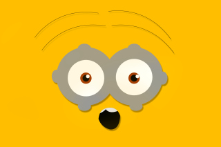 Minion Eyes Wallpaper for Android, iPhone and iPad