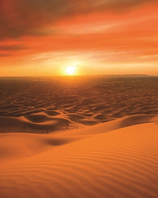 Morocco Sahara Desert Wallpaper for iPhone 4S