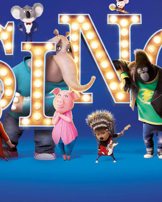 Sing 2016 Film Wallpaper for HTC Titan
