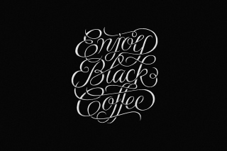 Enjoy Black Coffee Background for Android, iPhone and iPad