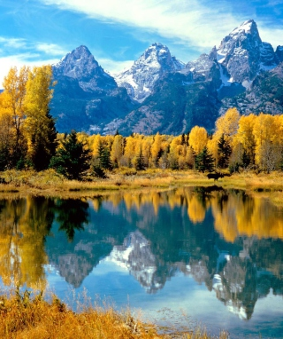 Grand Teton National Park, Wyoming Wallpaper for iPhone 5S
