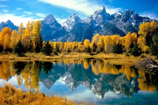 Grand Teton National Park, Wyoming Wallpaper for Samsung Galaxy Grand 2