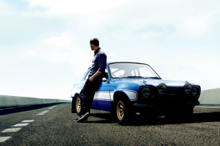 Paul Walker In Fast & Furious 6 Background for Android, iPhone and iPad