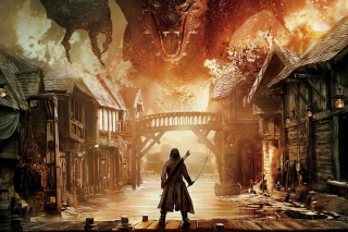 The Hobbit The Battle of the Five Armies - Obrázkek zdarma pro Samsung Google Nexus S