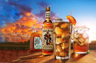 Captain Morgan Rum in Cuba Libre Background for Android, iPhone and iPad