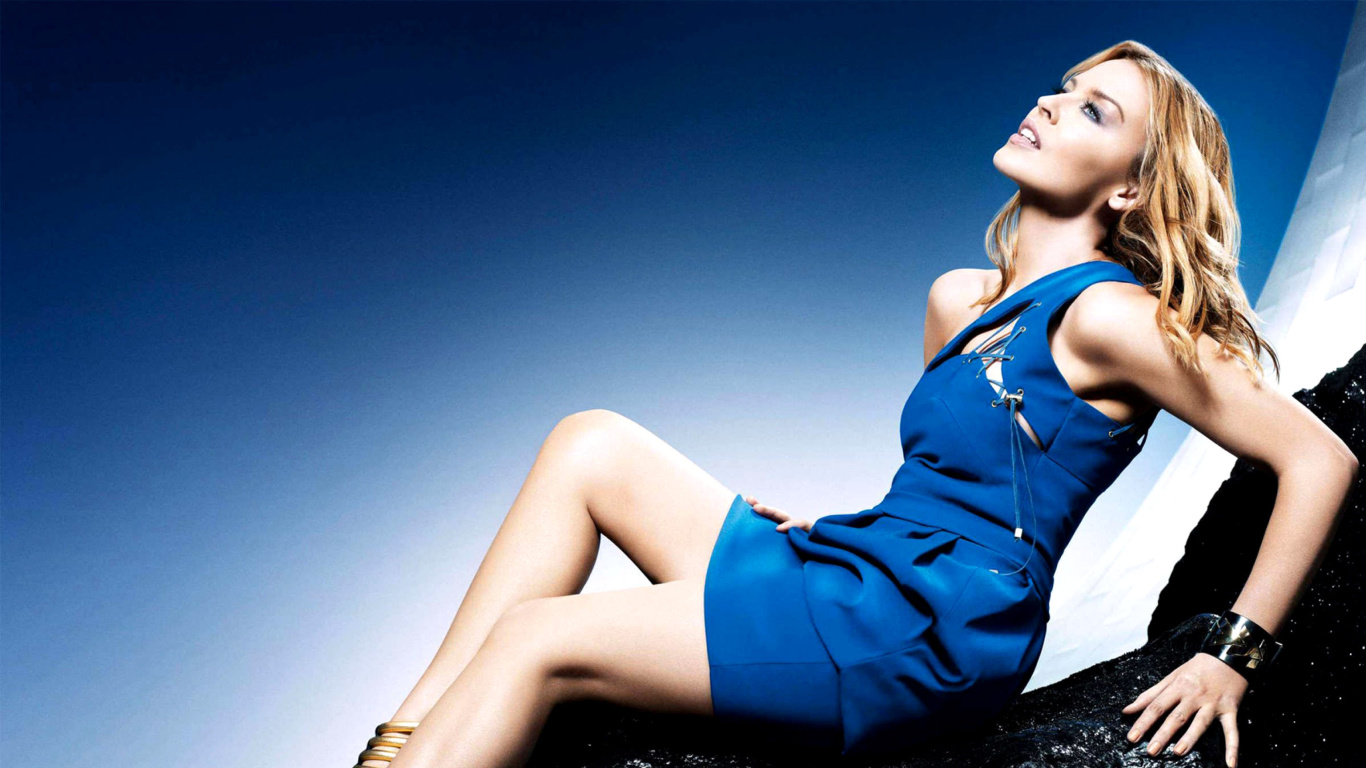 Kylie Minogue wallpaper 1366x768