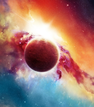 Space And Planet Background for Nokia Asha 311