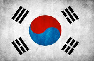 South Korea Flag Background for 1200x1024