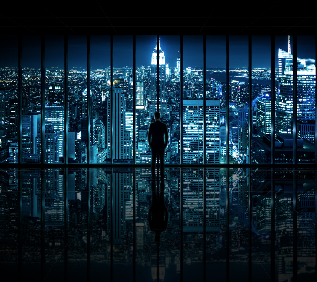 Gotham City wallpaper 1080x960