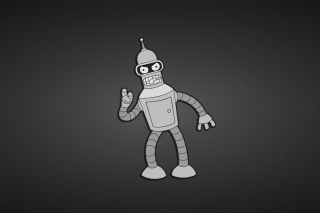 Futurama, Bender Wallpaper for Android, iPhone and iPad