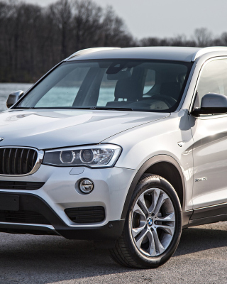 BMW X3 i35X XLine sfondi gratuiti per iPhone 6 Plus