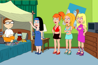 American Dad Wallpaper for Android, iPhone and iPad