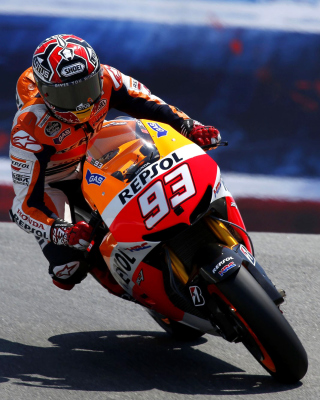 Free Repsol Honda MotoGP Picture for Nokia Lumia 800