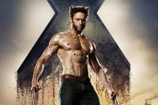 Wolverine In X Men Days Of Future Past - Obrázkek zdarma pro Motorola DROID 3