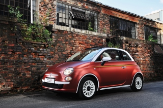Fiat 500 Wallpaper for Android, iPhone and iPad