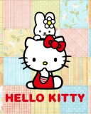 Screenshot №1 pro téma Hello Kitty 128x160